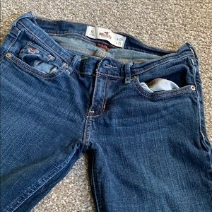 Bootcut low rise Hollister jeans